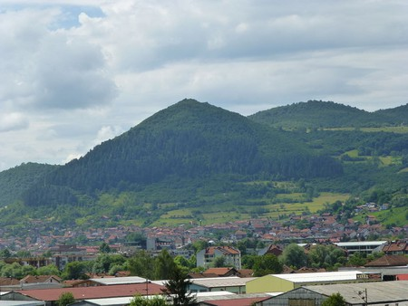 The Bosnian Pyramid of the Sun in Visoko | © TheBIHLover