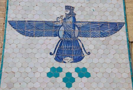 Depiction of Zoroastrian God | © A.Davey/Flickr