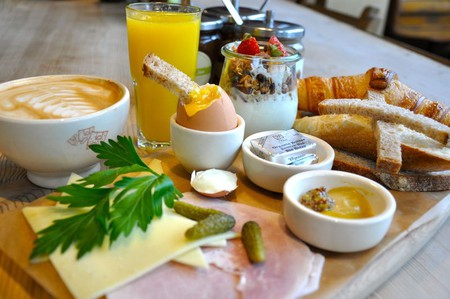 Aix has a wide variety of breakfast and brunch spots |Courtesy of Le Pain Quotidien in Aix-en-Provence