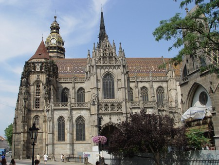 St. Elisabeth's Cathedral marks the center of Kosice and is a must see during your visit © MarosMraz/WikiMediaCommons