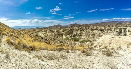 Tabernas Desert, Almería has stood in for the Wild West in many films and TV shows