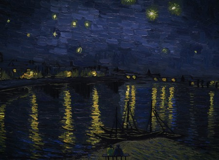 Landscape Starry Night over the Rhone | © Good Deed Entertainment