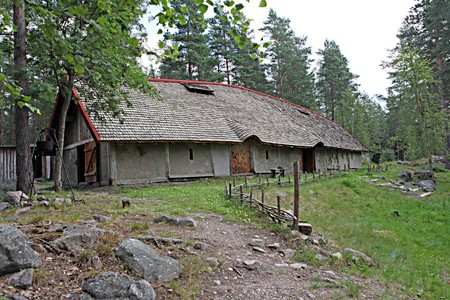 Explore the houses at Årsunda | Courtesy of Årsunda Viking Village