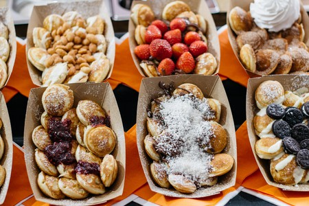 Food markets in Shoreditch, London