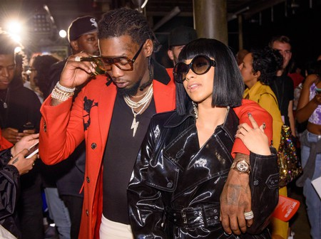 Offset of Migos and Cardi B