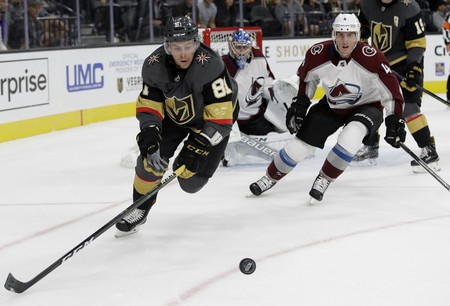 The Las Vegas Golden Knights make their NHL debut on Oct. 6 | © AP/REX/Shutterstock