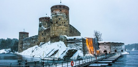 Castle Olavinlinna in Savonlinna, Finland | © Zabotnova Inna/Shutterstock