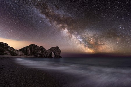 Will Milner, Durdle Door and the Milky Way, Dorset, 2017 | Courtesy of Landscape Photographer of the Year 2017