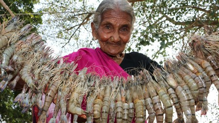 106 yr old Granny from India | Courtesy of Country Foods / YouTube