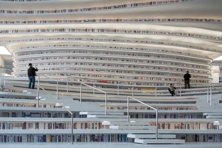 Tianjin Binhai Public Library | © Ossip van Duivenbode