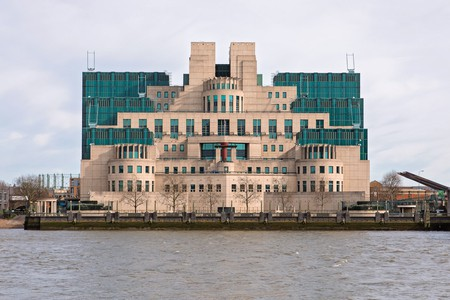 The SIS Building was made famous by James Bond