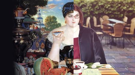 Merchant's Wife at Tea makeover | © Courtesy of Alena Geyzer