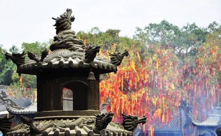 Xiqiaoshan Temple | © jun j / Flickr