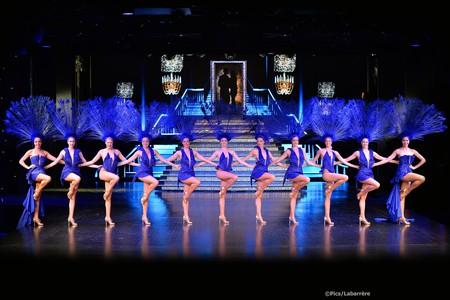 Dancers at LIDO De Paris | Courtesy of Le Lido/Pascaline Labarrere