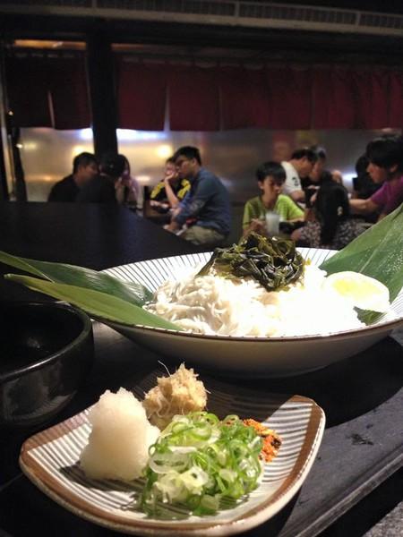 Fresh Japanese food at Oden Bar