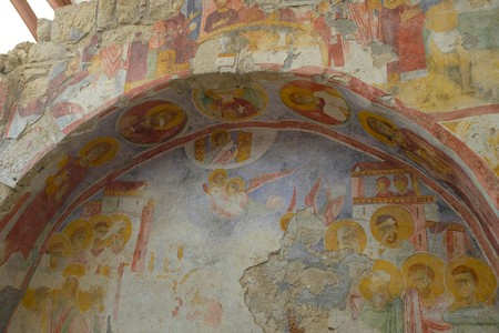 Fresco in St. Nicholas Church in Demre | © Alexander van Loon/Flickr