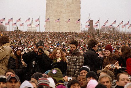 Inauguration crowd © Pablo Manriquez / Flickr