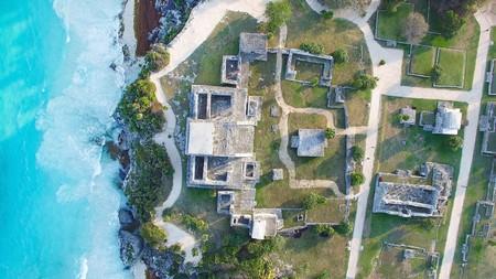 Tulum Ruins from above | © Falco Ermert/Flickr