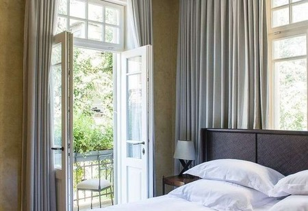 The Norman Tel Aviv's guest rooms lie in restored buildings from the 1920s