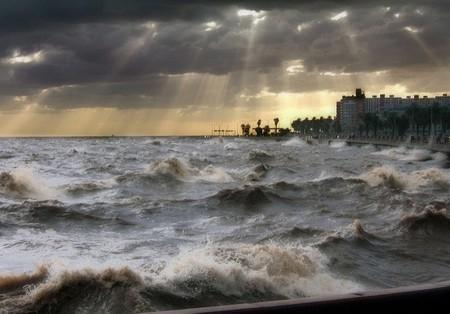 Storm in Montevideo