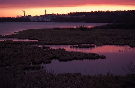 Sunset over Lake Näsijärvi | © Jarkko - / Flickr
