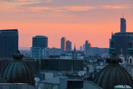 Vienna's rooftops