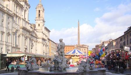 2010's Christmas market in Piazza Navona | © MollySVH/Flickr
