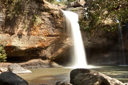 Hew Suwat waterfall, Khao Yai National Park   © Pierre Wolfer/Flickr