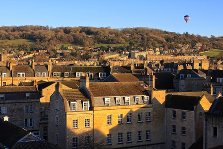 Hot Air Balloon over Bath | © TravelingOtter/Flickr