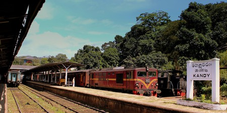 Kandy Train Station | © calflier001 / Flickr