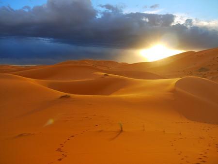 Sublime sunset over the Sahara Desert, Morocco | © Swen George / Flickr