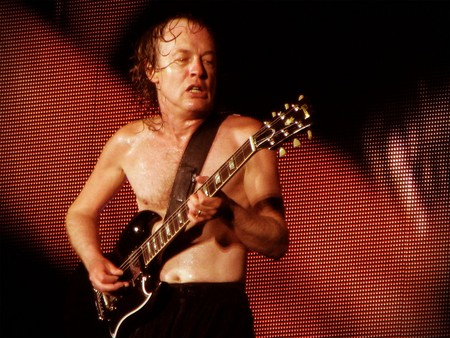 Angus Young, AC/DC guitarist | © Ed Vill/Flickr