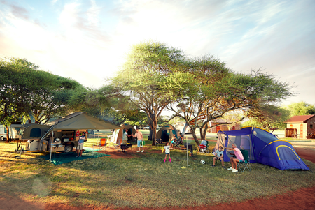 Camping in South Africa | Photo courtesy of South African Tourism