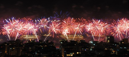 Copacabana fireworks | © Leandro Neumann Ciuffo / Flickr