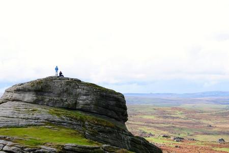 Couple on top of Haytor, Dartmoor   © Jenny-Bee/Flickr