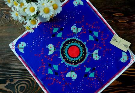 Napkin made by Hooda © Baia Dzagnidze