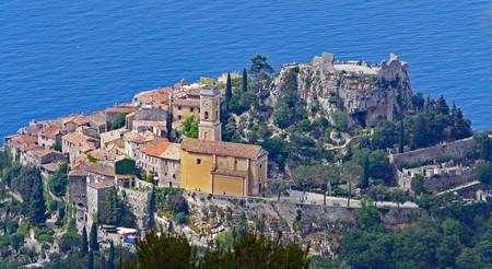 The Mediterranean hillside village of Éze | © hpgruesen/Pixabay
