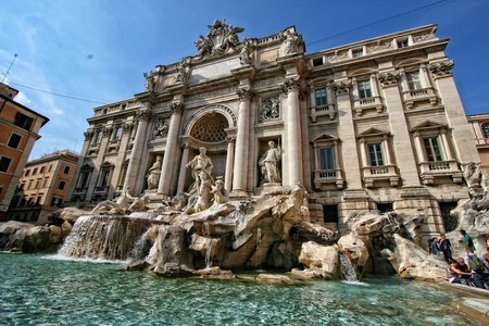 The Trevi Fountain | © DomyD/Pixabay
