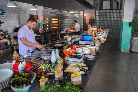 Breakfast buffet at Fabrika | © Baia Dzagnidze