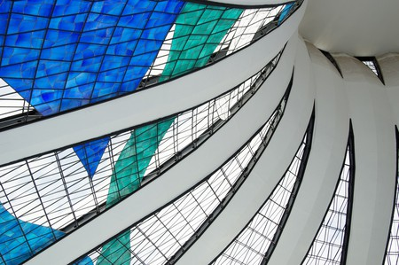 The incredible concrete and glass tent of the Brasilia Cathedral by Oscar Neimeyer | © Juliana Lopes/Flickr