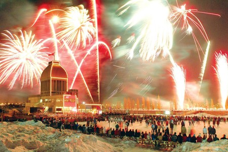 Fire on Ice Festival | © CTC / Quays of the Old Port of Montréal