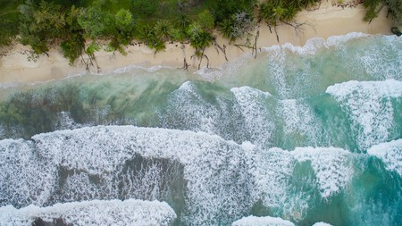 View from above at Red Frog Beach | © Falco Ermert/Flickr