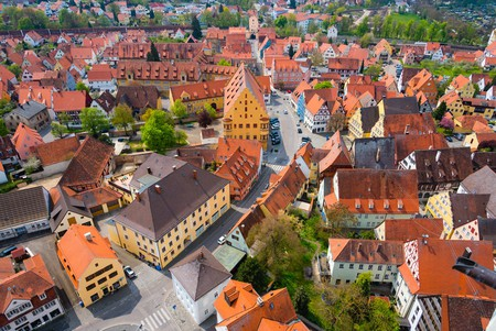 View of Nördlingen from St Georgs Church | © Elena Kharichkina/Shutterstock