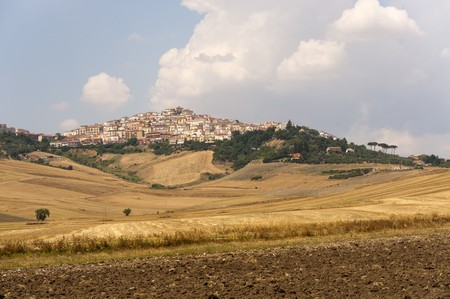 The village of Candela in southern Italy