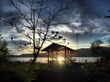 Sunset view at Barkat Chalet © Barkat Chalet
