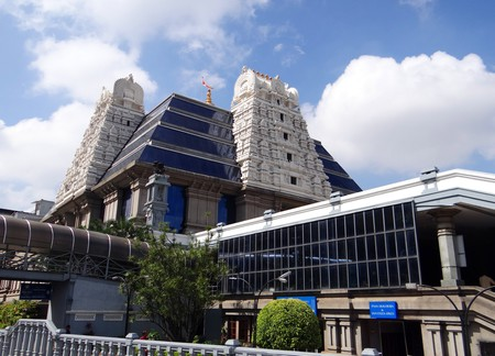 The ISKCON temple in Bangalore is a popular tourist attraction | © sarangib / pixabay