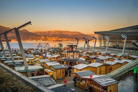 Vancouver Christmas Market Sunset | Courtesy of Vancouver Christmas Market