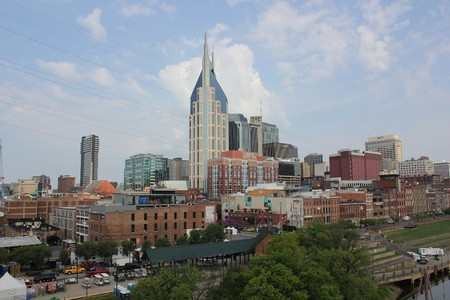 Downtown Nashville Near the Riverfront | © Nicolas Henderson / Flickr