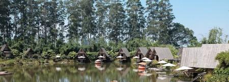 The natural view at Dusun Bambu, Bandung