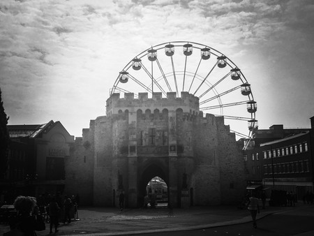 The Bargates and The Wheel   © Mike Beales